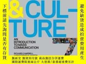 二手書博民逛書店Media罕見And Culture: An Introduction To Mass Communication