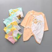 嬰兒長袖蝴蝶裝 新生兒肚衣 連身衣 寶寶兔裝  XE11301 好娃娃