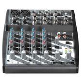 【敦煌樂器】BEHRINGER XENYX X802 八軌混音機