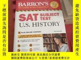 二手書博民逛書店BARRON S罕見SAT SUBJECT TESTY26788