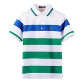 『小鱷魚童裝』條紋POLO衫(08號~20號)533102