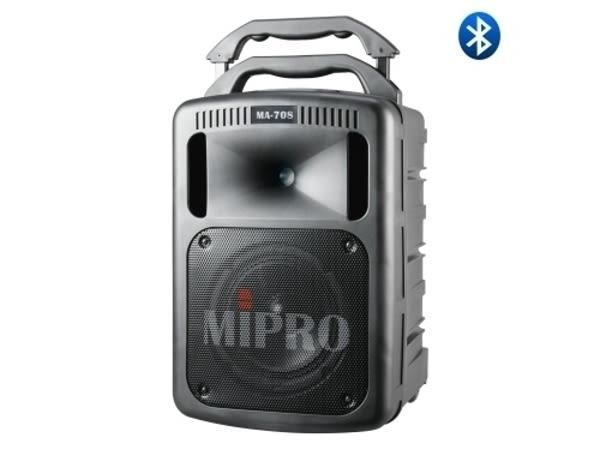 嘉強 MIPRO MA-708 豪華型手提式無線擴音機(含藍芽.兩支手握式麥克風)無CD及USB播放座.