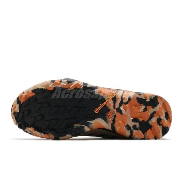 adidas 戶外鞋 Terrex AX3 GTX 咖啡 黑 男鞋 Gore-Tex 登山 防水 運動鞋 【ACS】 FV6851 FV6851