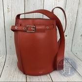 BRAND楓月 CELINE BIG BAG BUCKET 楓葉紅 水桶包 側背包 單肩包