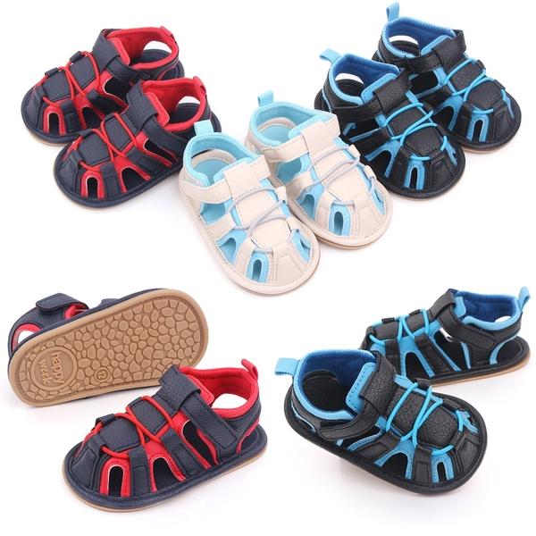 寶寶涼鞋 透氣機能 學步鞋 軟底防滑嬰兒鞋 (11.5-12.5cm) MIY2577 好娃娃