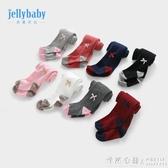 寶寶打底襪0-1歲兒童褲襪春秋女嬰兒連腳秋裝襪子6女童連褲襪秋款 怦然心動