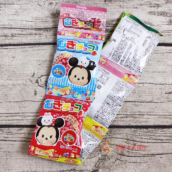 古田 迪士尼5連草莓巧克力豆55g【0221零食團購】4902501115763