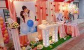 一定要幸福哦~~ 婚禮佈置,包套專案12000元會場佈置,浪漫型婚禮氣球佈置