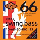 小叮噹的店 英國ROTOSOUND SM665 (40-125) 五弦電貝斯弦 不銹鋼 旋弦公司貨
