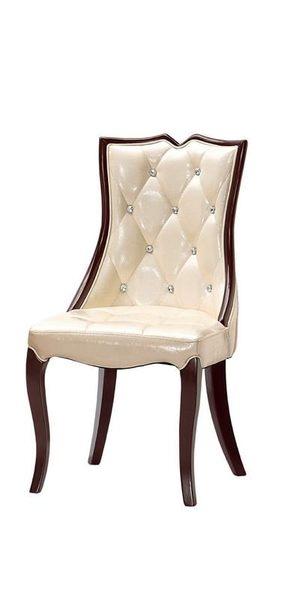{{8號店鋪 森寶藝品傢俱}} a-01 品味生活 餐椅系列 1020-10 凱撒餐椅(皮)