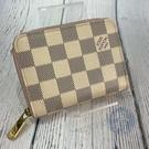 BRAND楓月 LOUIS VUITTON 路易威登 LV N60229 白棋盤零錢包 經典棋盤格 零錢袋 錢包 皮包
