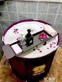 可伸縮摺疊浴桶架浴缸置物架泡澡桶洗澡桶托盤架子廚房瀝水收納架 3CHM