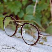 現貨-韓國ulzzang復古眼鏡框女可配近視鏡小圓框文藝全框眼鏡個性眼鏡架男潮圓形超輕平光鏡55