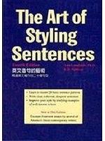 二手書博民逛書店《Art of styling sentences : 20 p