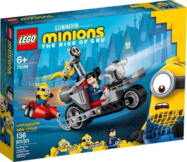 樂高LEGO MINIONS 小小兵2 格魯的崛起 勢不可擋的機車追逐 75549 TOYeGO 玩具e哥