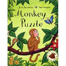 『繪本123‧吳敏蘭老師書單』-- MONKEY PUZZLE  /英文繪本附CD《幽默.認識動物》
