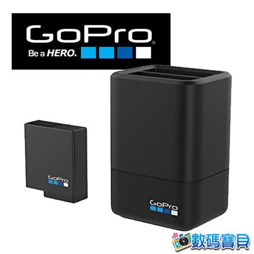 【免運費】 GoPro AADBD-001 HERO5黑 HERO6 雙電池充電器套組(內含電池乙顆)【台閔公司貨】AADBD001