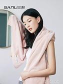 三利浴巾純棉成人男女兒童大號毛巾三件套家用吸水速干不掉毛裹巾 探索先鋒