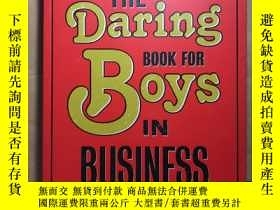 二手書博民逛書店The罕見Daring Book for Boys in Bus