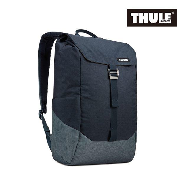 THULE-Lithos 16L筆電後背包TLBP-113-灰藍