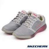 SKECHERS 女鞋 跑步系列 GO RUN 600 入門款跑鞋 - 灰X粉 15067CCPK