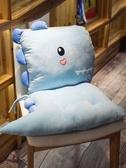 屁股墊子椅子坐墊椅墊靠墊一體學生辦公室教室毛絨女加厚 黛尼時尚精品