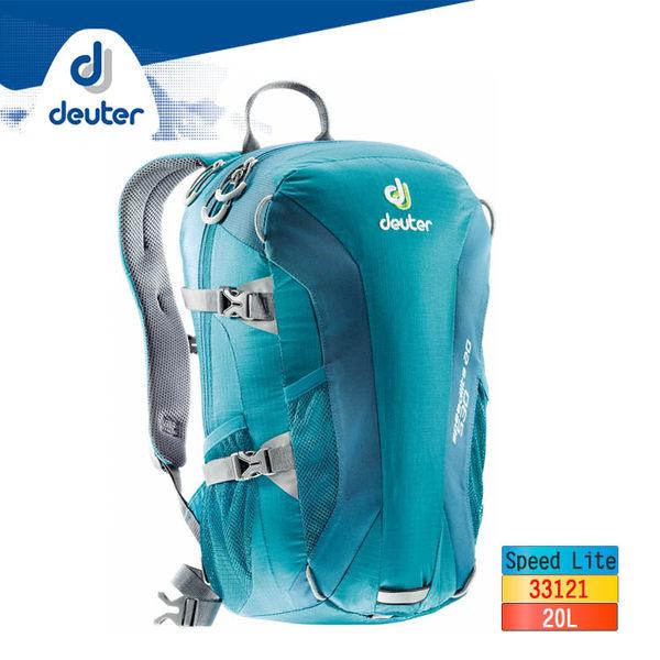 deuter 超輕量背包 20L Speed Lite 33121/城市綠洲(德國登山背包 攻頂包 可折疊)