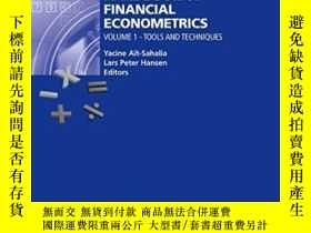 二手書博民逛書店Handbook罕見Of Financial Econometrics, Vol. 1Y256260 Ait-