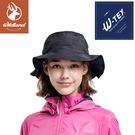 【Wildland 荒野 中性 抗UV防水功能帽《黑》】W2009/防曬帽/休閒帽/圓盤帽/登山