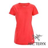 Arc'teryx 加拿大 始祖鳥 女 Taema快乾 短袖圓領衫『亮紅』L06846 吸濕排汗透氣T-shirt