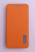 ROCK NEW HTC One (HTC X810e)/One 4G LTE 側翻手機保護皮套 Elegant 雅系列 香橙