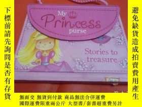 二手書博民逛書店外文原版童書;My罕見Princess Purse Stories to treasureY4587