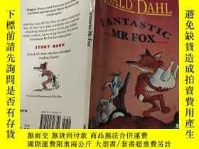 二手書博民逛書店Fantastic罕見Mr Fox 了不起的狐貍爸爸Y200392