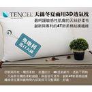 3D天絲兩用枕 採用日本原料 台灣製 枕頭