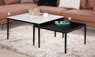 【南洋風休閒傢俱】茶几系列 -伊芳伸縮岩板茶几組 石面咖啡桌 沙發茶几 CM743-4