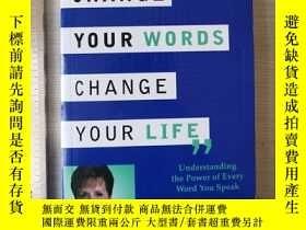 二手書博民逛書店Change罕見your words change your l