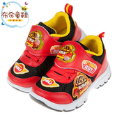 《布布童鞋》POLI救援小英雄羅伊紅色透氣兒童電燈運動鞋(16~20公分) [ B9Q272A ]