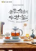 小熊煮茶器黑茶普洱玻璃蒸茶壺全自動蒸汽煮茶壺養生壺官方旗艦店  夏洛特 lx