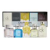 Calvin Klein 卡文克萊 CK男性小香水禮盒(五入-誘惑/ck one/迷上了/永恆/ck all) Vivo薇朵