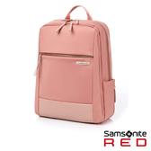 Samsonite RED AREE 女性輕量筆電後背包M 14吋(粉)
