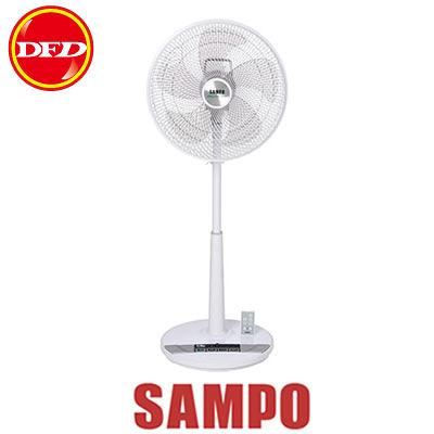 SAMPO 聲寶 SK-FL16DR  DC節能扇 TURBO循環扇網 七段風量 雙預約開關機 無線遙控 公司貨 SKFL16DR