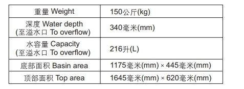 【麗室衛浴】美國 KOHLER Volute™ 獨立式鑄鐵浴缸 K-99311T 尺寸170x80x50cm