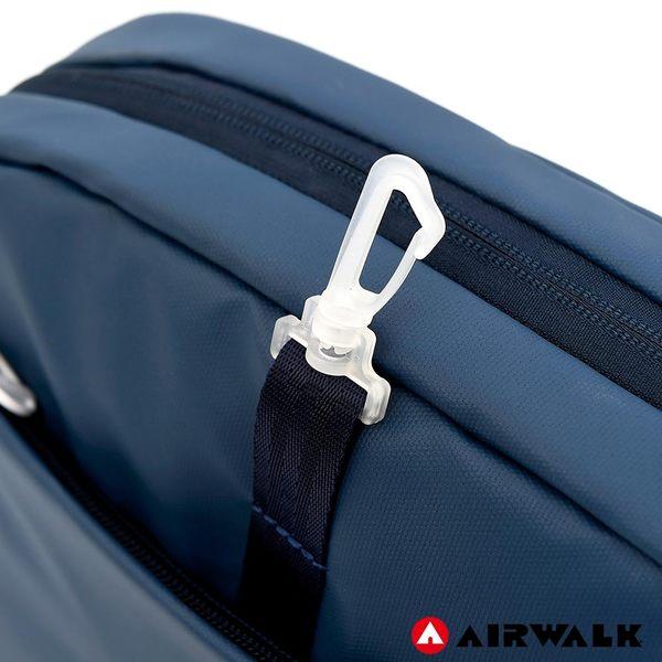 AIRWALK 晶彩生活休閒側背包 -黑色 A855300220