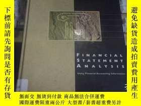 二手書博民逛書店financial罕見statement analysisY18