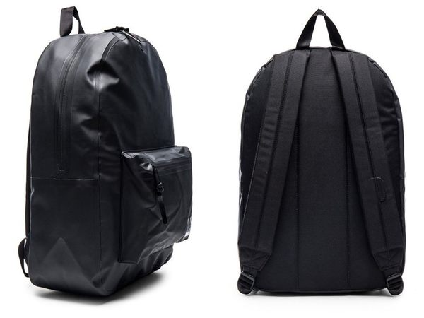 Hsin 9折 獨家 現貨 Herschel 高階 Studio Settlement 中型 防水 全黑 黑色 帆布 防潑水 筆電層 書包 後背包