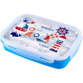(聖誕交換禮物)不鏽鋼保溫飯盒分格小學生便當盒分隔兒童餐盤微波爐成人餐盒