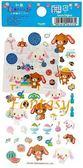 【玩之內】日本焦糖兔甜點兔和紙銀箔貼紙41172