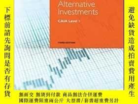 二手書博民逛書店Alternative罕見Investments: Caia Level I (wiley Finance)-另類