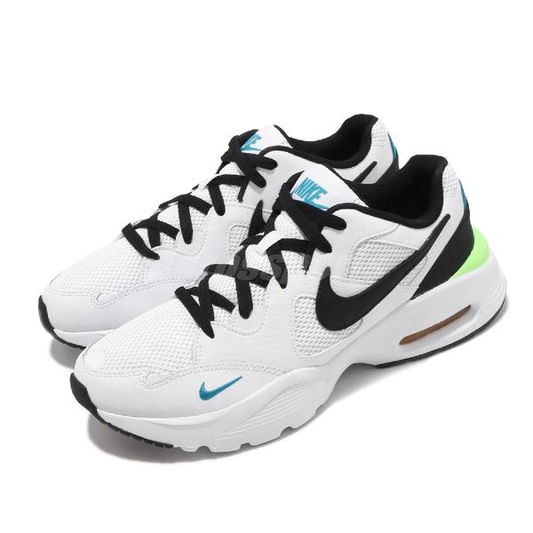 Nike 休閒鞋 Air Max Fusion 白 黑 男鞋 氣墊 基本款 【PUMP306】 CJ1670-103