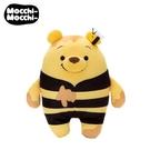【日本正版】小熊維尼 蜜蜂造型 麻吉好朋友 玩偶 娃娃 Mocchi-Mocchi Winnie 迪士尼 - 534577